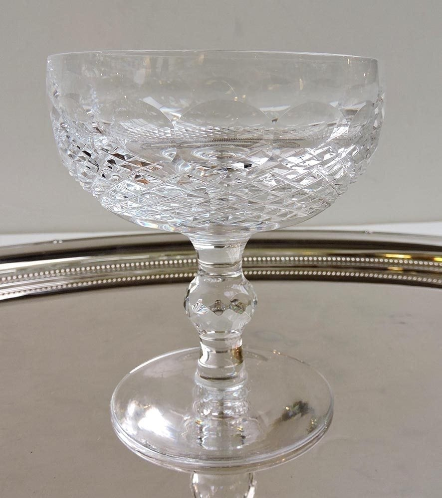 Art glass waterford crystal antique glass toronto bernardi 39 s antiques - Waterford champagne coupe ...