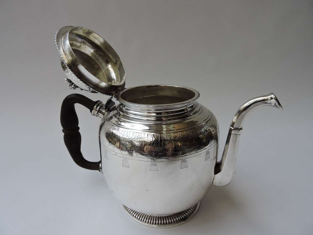 French Silver Teapot with 18th Century Hallmarks (most ...
