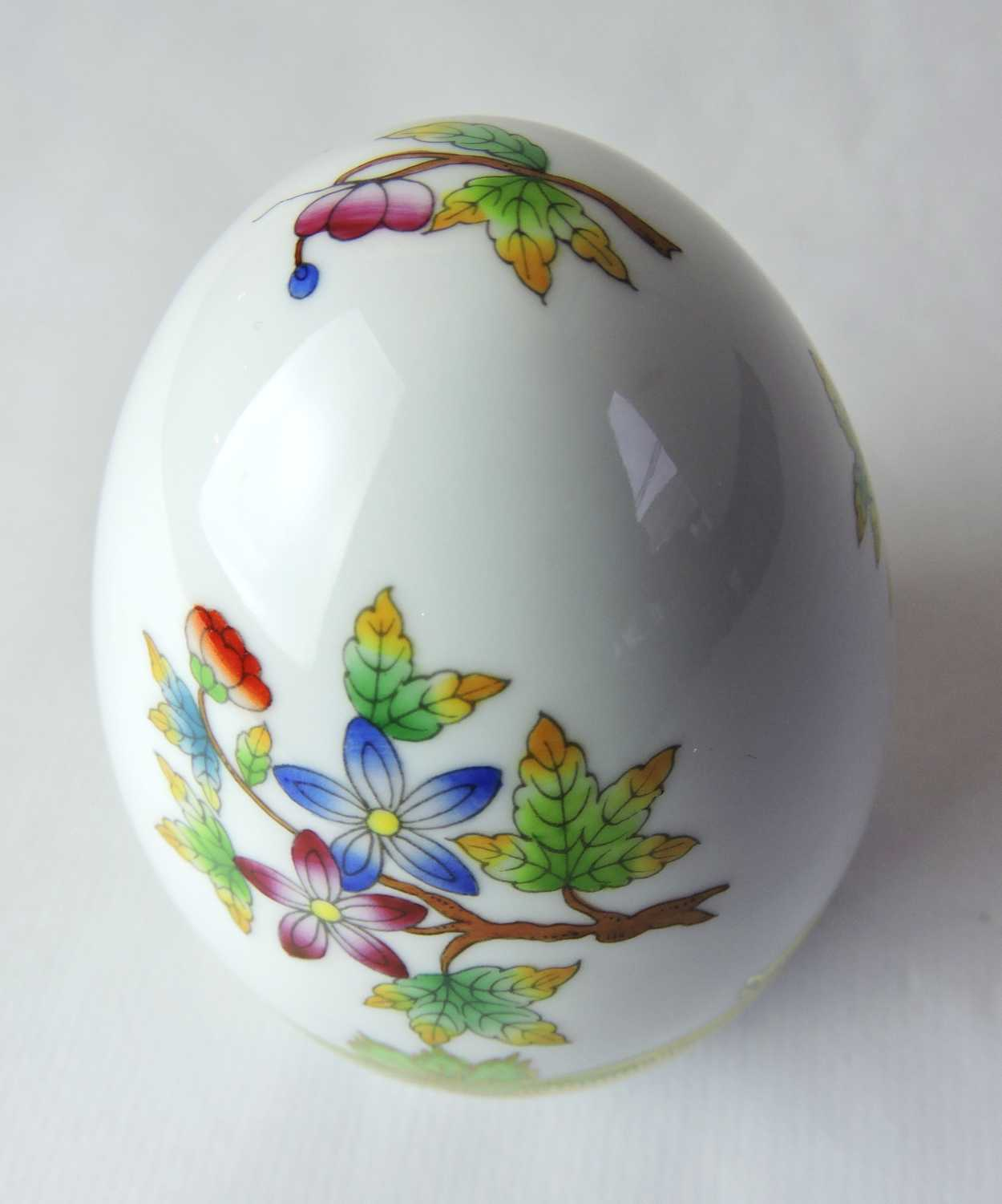 Herend Hungary Hand Painted Egg