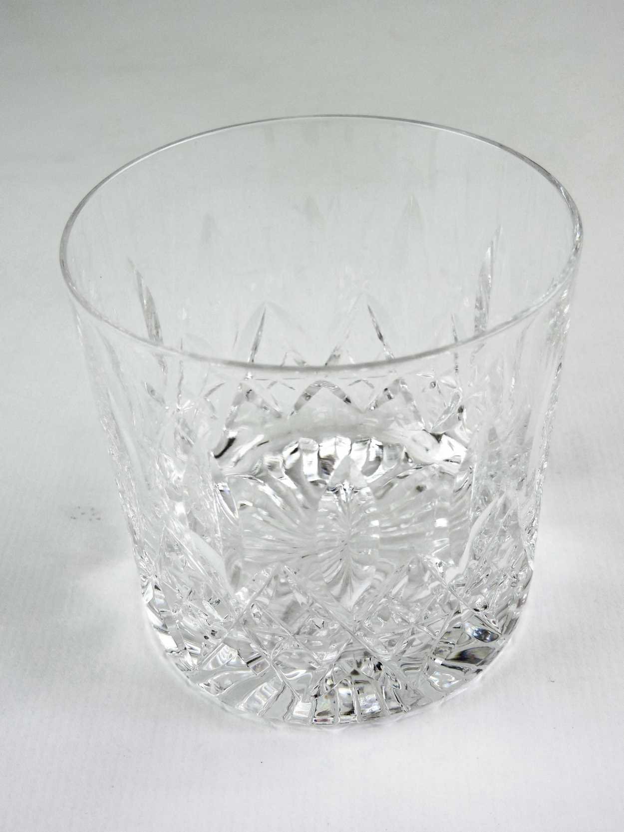 Old Fashioned Glasses Quot Glencoe Pattern Quot Signed Stuart