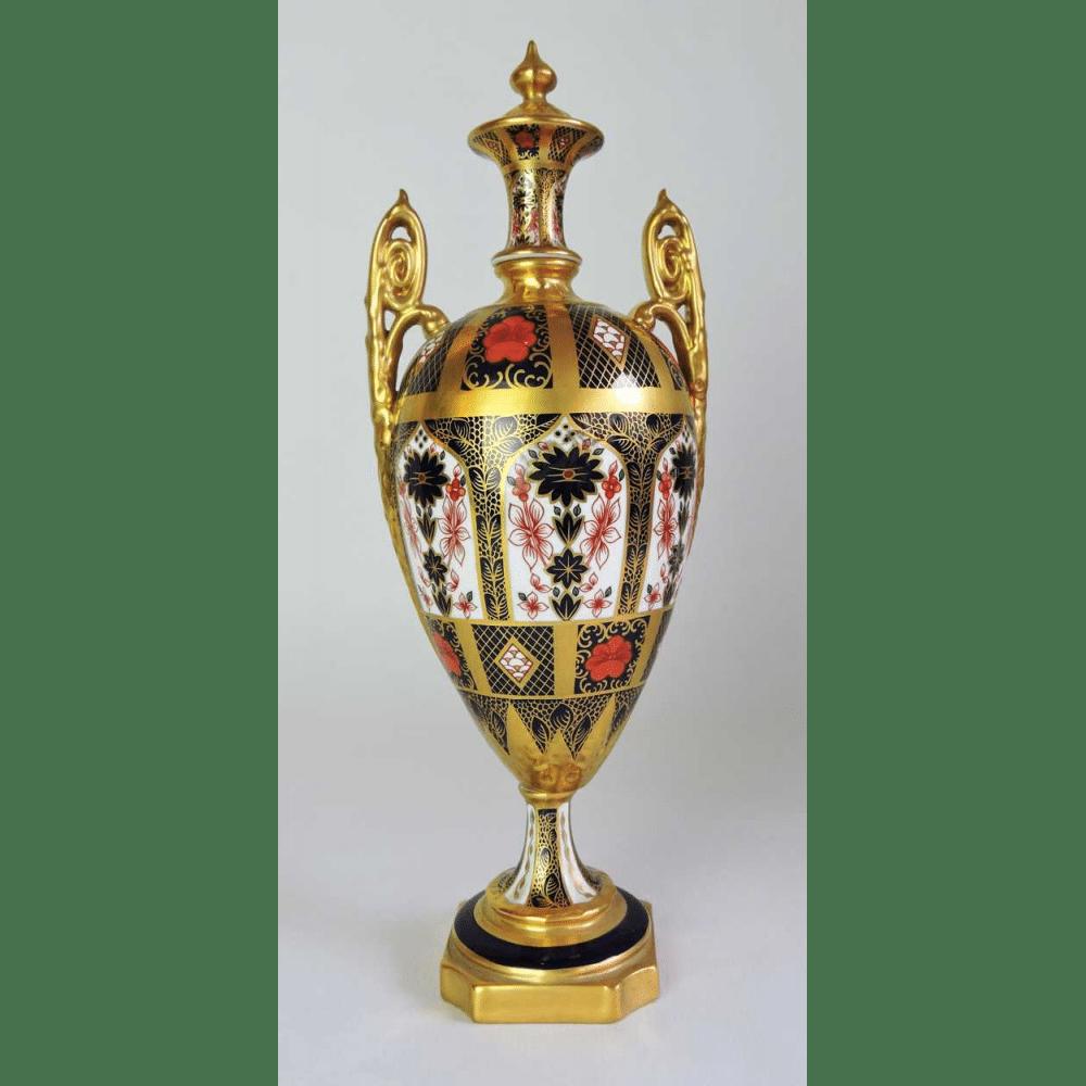 Royal crown derby urn in old imari pattern 1128 bernardis royal crown derby urn in old imari pattern 1128 china patterns reviewsmspy