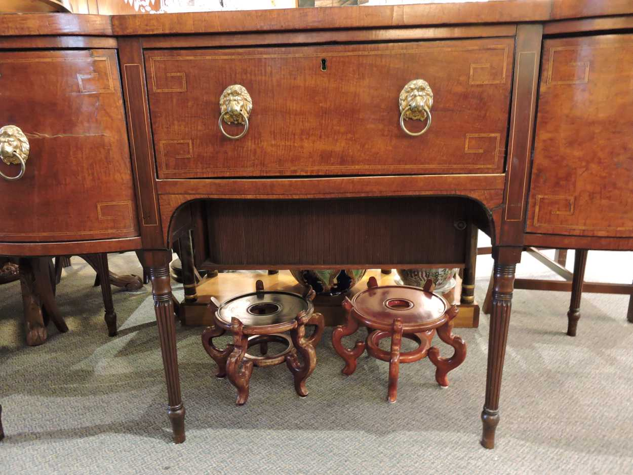 Georgian Period Mahogany Buffet Server Desk C 1810