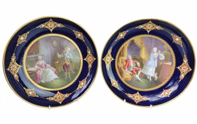 sevres hand painted