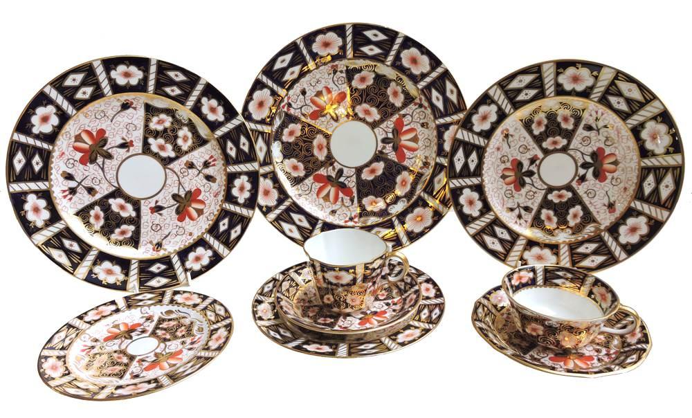 Royal Crown Derby - Traditional Imari - Pattern #2451 - bread-butter-plate  sc 1 st  Bernardis Antiques & Royal Crown Derby - Traditional Imari - Pattern #2451 - Bernardis ...