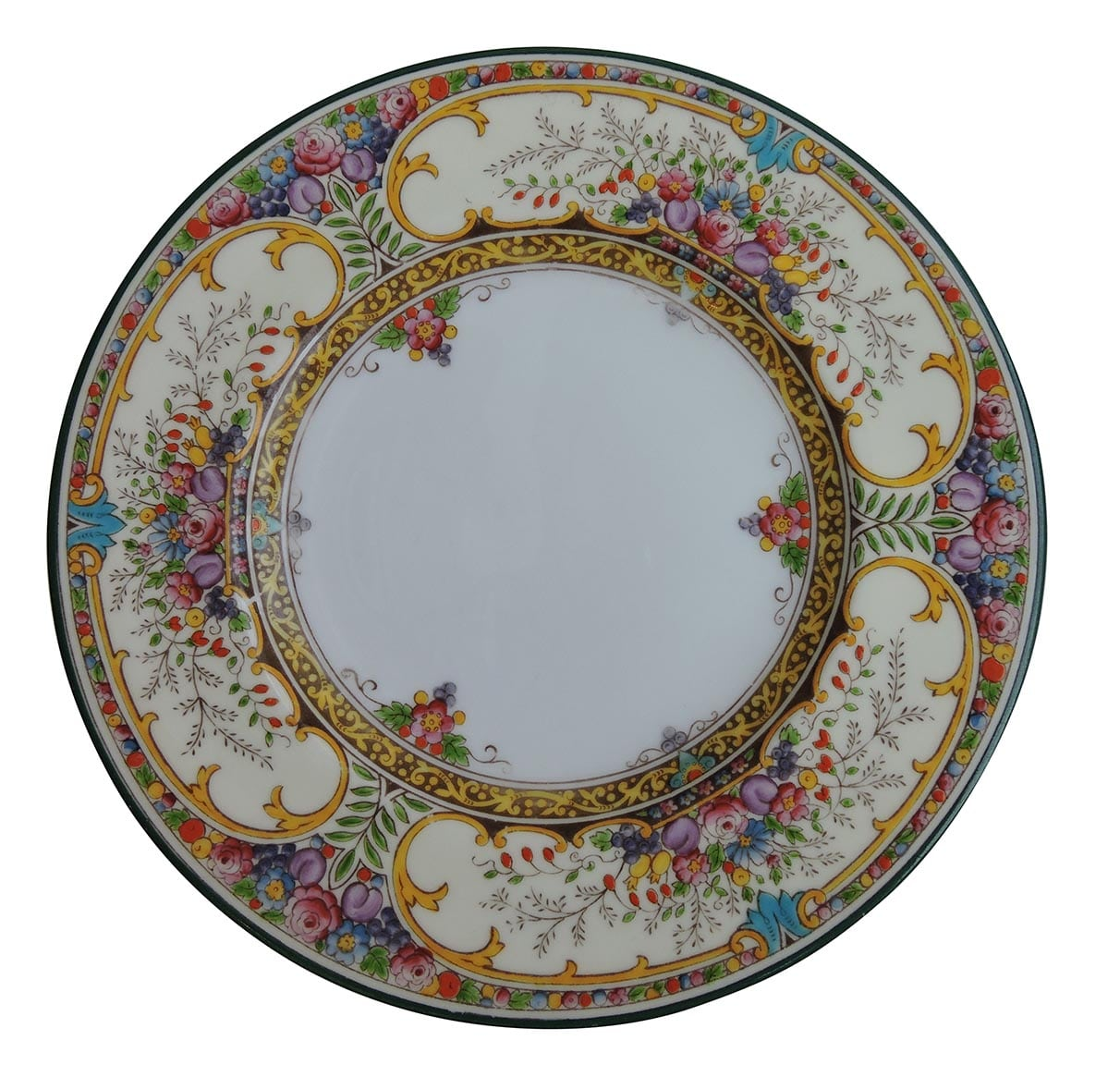 Wedgwood 12 dinner plates st austell pattern for Pottery patterns