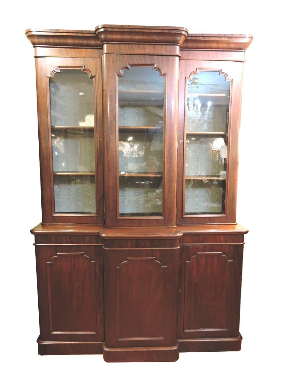Early Victorian Large Mahogany Dining, Mahogany Dining Room Cabinet