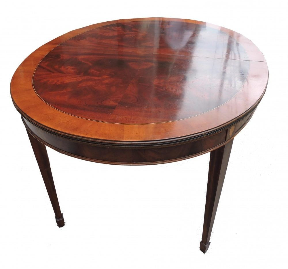 mahogany table with banding decoration dining room table with 2