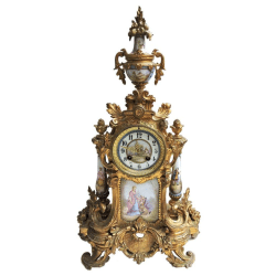 frenchporcelainclocklarge