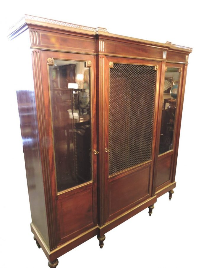 Louis Philippe Bookcase
