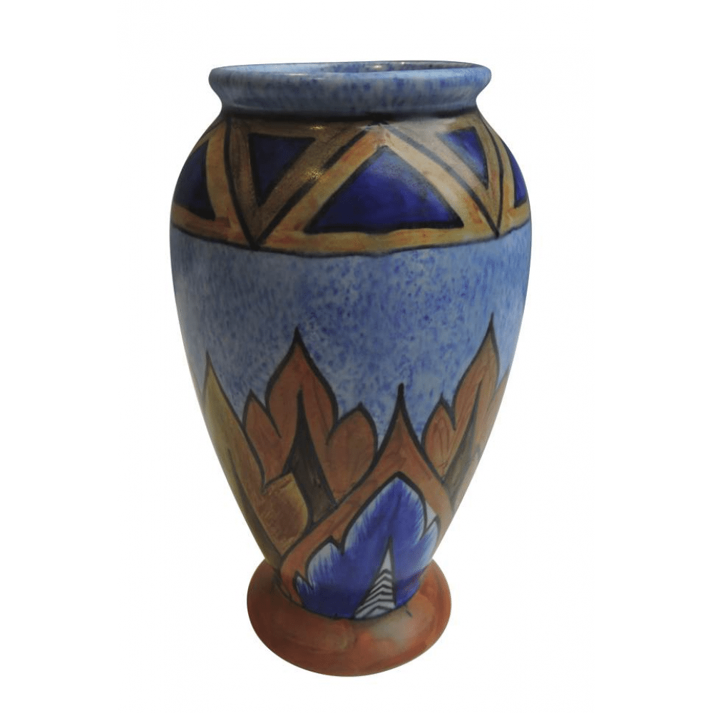 Chameleon Ware Pottery Art Deco Vase Bernardis Antiques